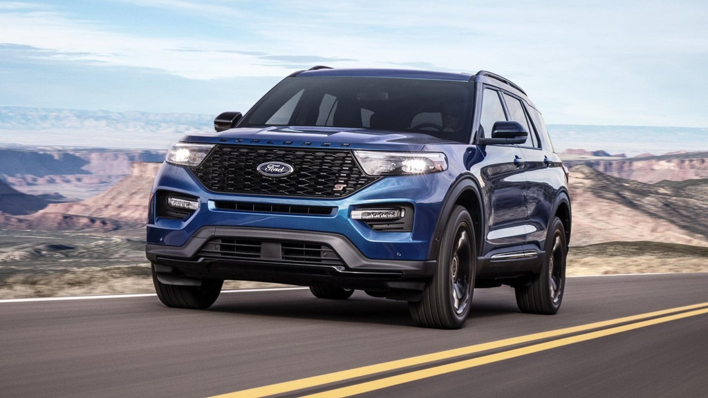 Danh gia Ford Explorer 2020 - nhieu cai tien ca thiet ke lan dong co hinh anh 1