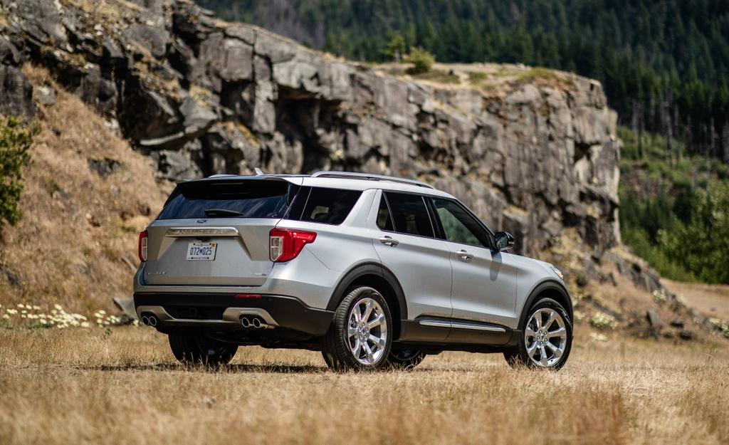 Danh gia Ford Explorer 2020 - nhieu cai tien ca thiet ke lan dong co hinh anh 11