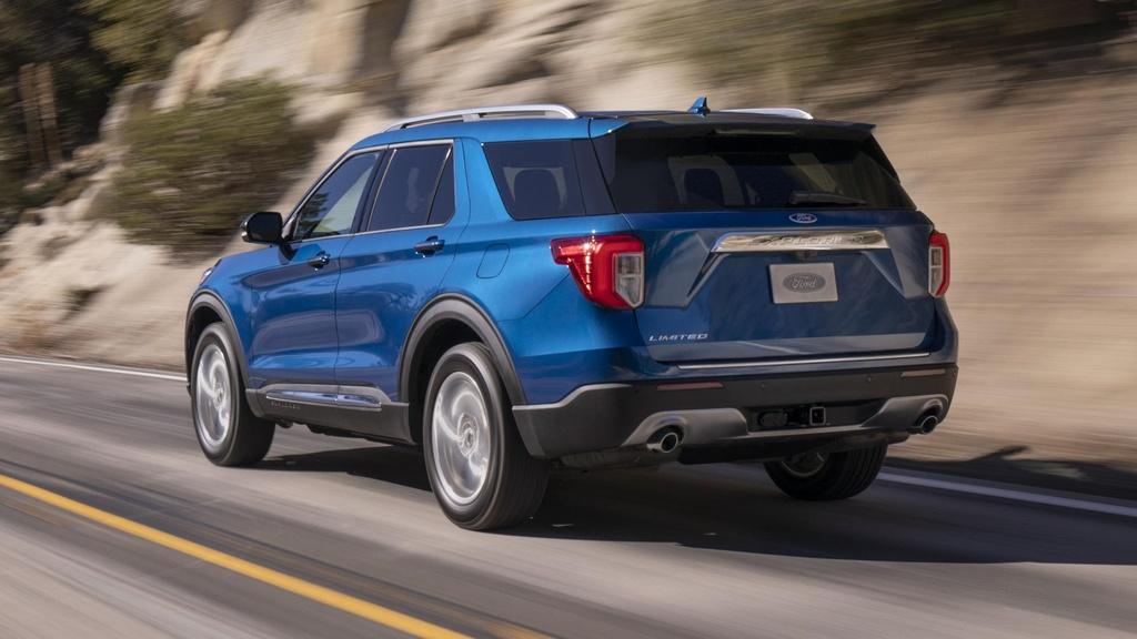 Danh gia Ford Explorer 2020 - nhieu cai tien ca thiet ke lan dong co hinh anh 4