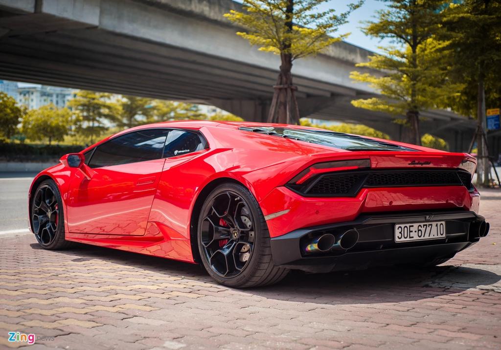 Lo hen Car Passion 2019, Lamborghini Huracan LP 580-2 tro lai Ha Noi hinh anh 4
