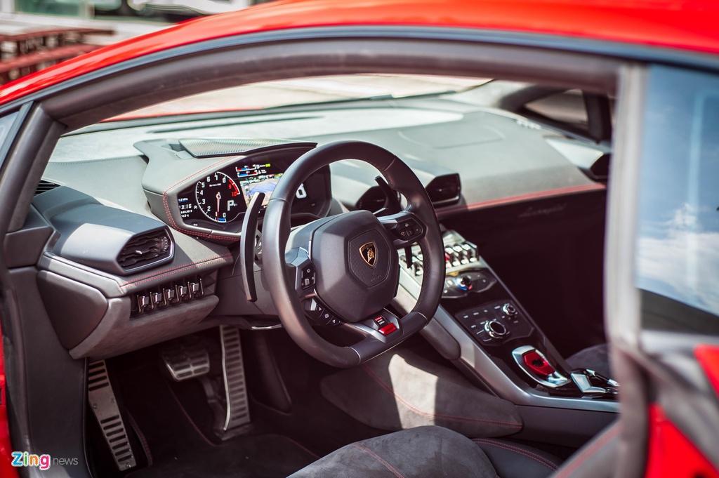 Lo hen Car Passion 2019, Lamborghini Huracan LP 580-2 tro lai Ha Noi hinh anh 8