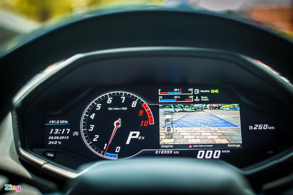 Lo hen Car Passion 2019, Lamborghini Huracan LP 580-2 tro lai Ha Noi hinh anh 10