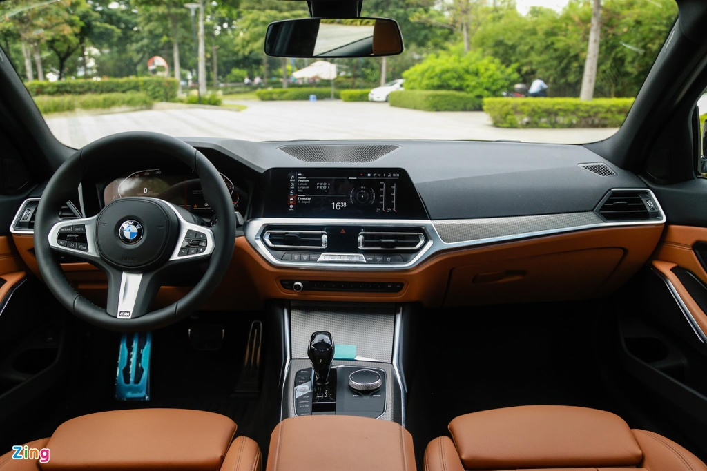 Chi tiet BMW 330i M Sport gia 2, 38 ty tai VN anh 6