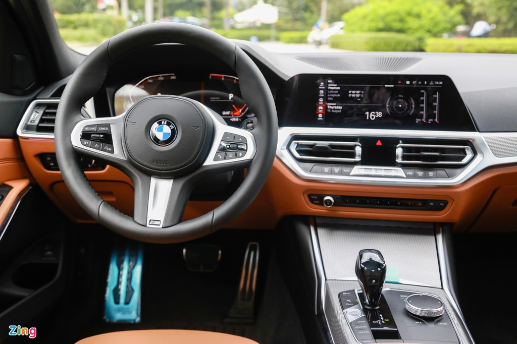 Chi tiet BMW 330i M Sport gia 2, 38 ty tai VN anh 9