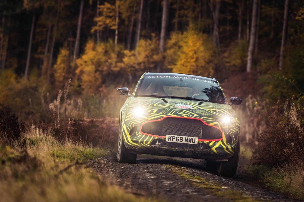 Aston Martin chen chan san xuat SUV, ra mat vao thang 12 hinh anh 9