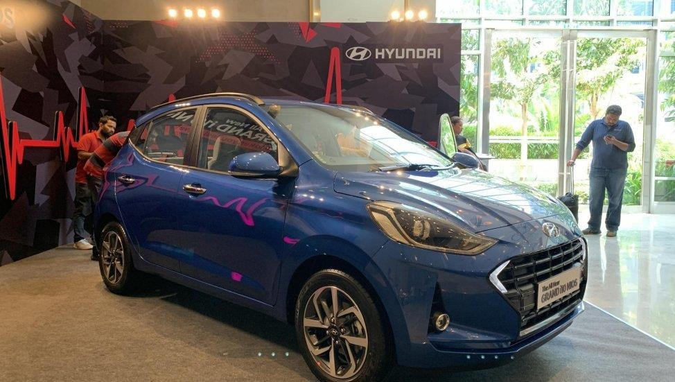 Hyundai Grand i10 moi khac gi so voi phien ban dang ban o VN? hinh anh 2