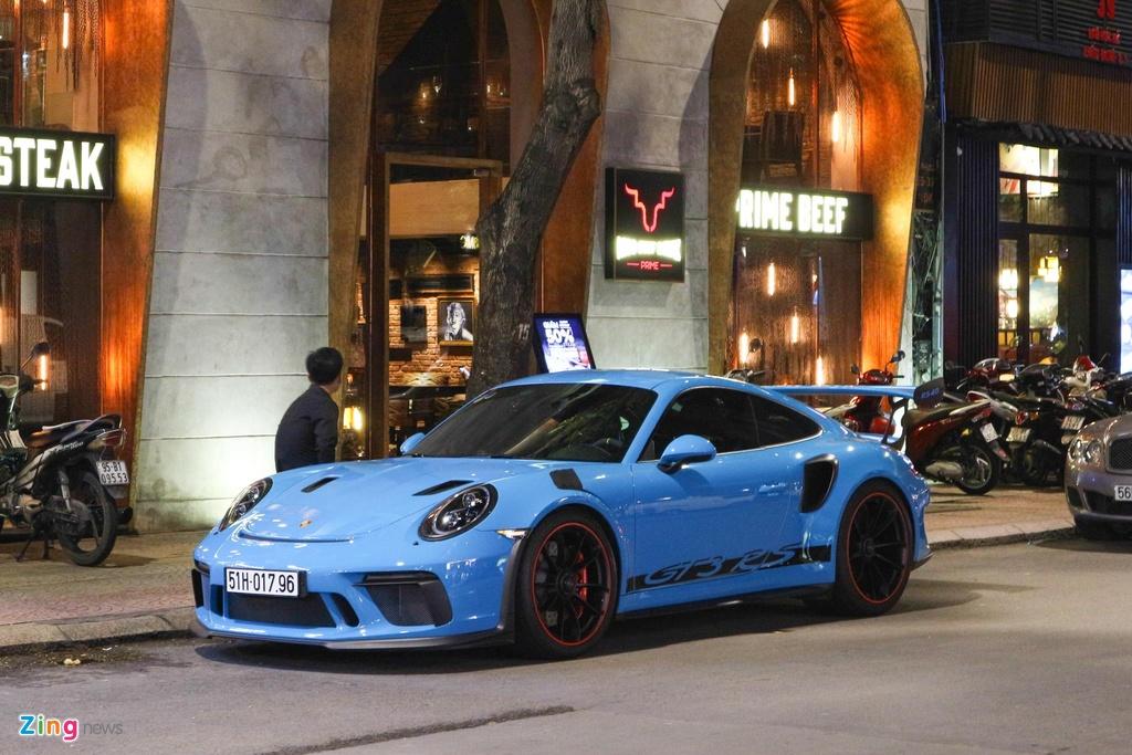 Bo doi Porsche 911 GT3 RS mau doc xuong pho anh 7