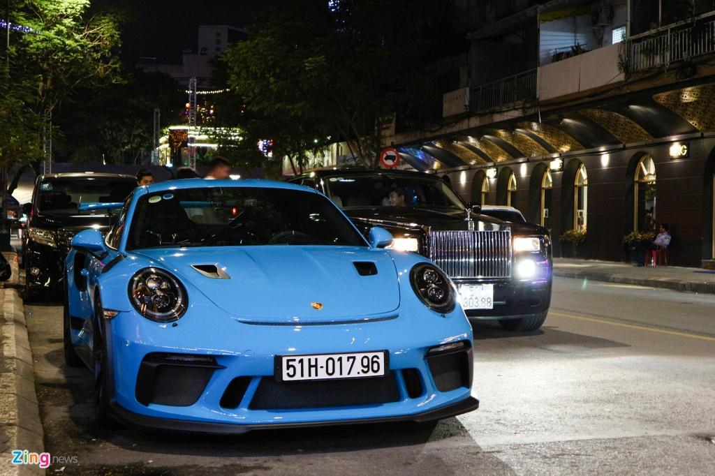 Bo doi Porsche 911 GT3 RS mau doc xuong pho anh 6