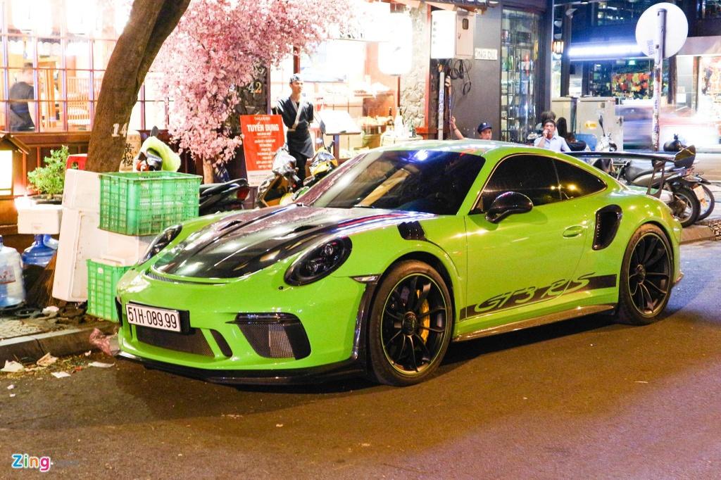 Bo doi Porsche 911 GT3 RS mau doc xuong pho anh 1