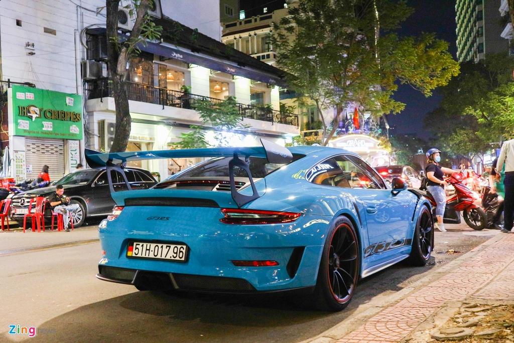 Bo doi Porsche 911 GT3 RS mau doc xuong pho anh 8