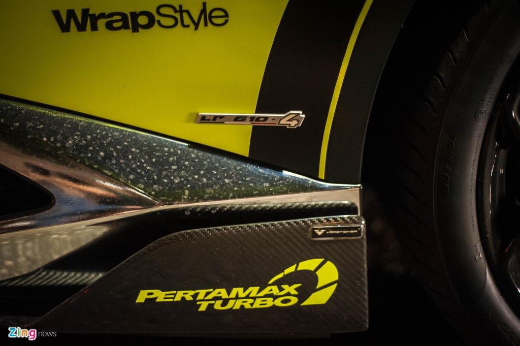 Lamborghini Huracan LP610-4 tung du Car Passion 2019 khoac mau ao moi hinh anh 6
