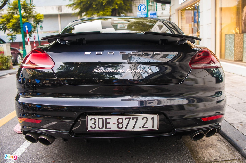 Chiem nguong Porsche Panamera Turbo S Exclusive hang hiem o Ha Noi hinh anh 8
