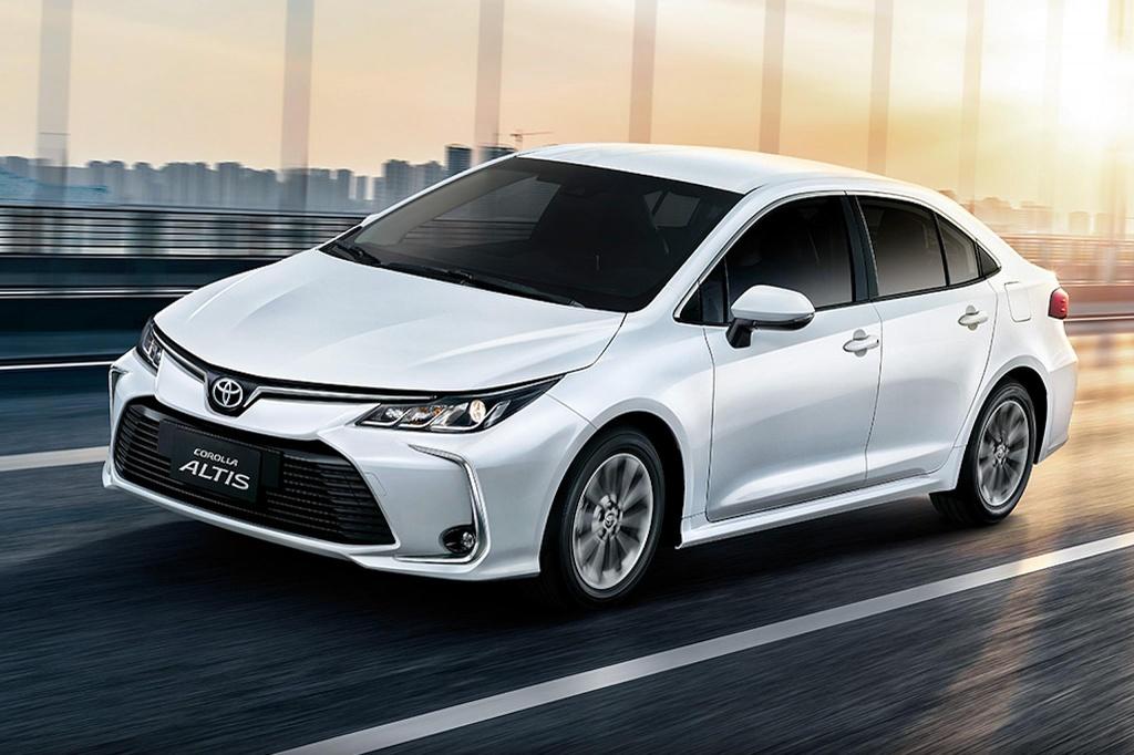 Toyota Corolla Altis 2020 chinh thuc ra mat tai Thai Lan hinh anh 1