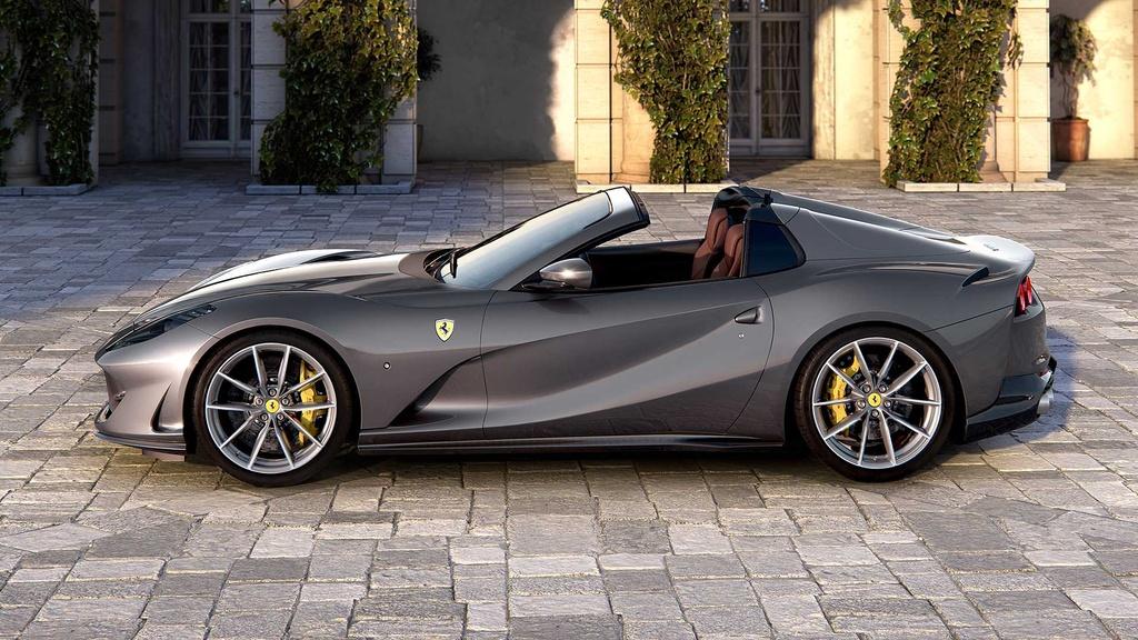 Ferrari 812 GTS ra mat the gioi anh 2