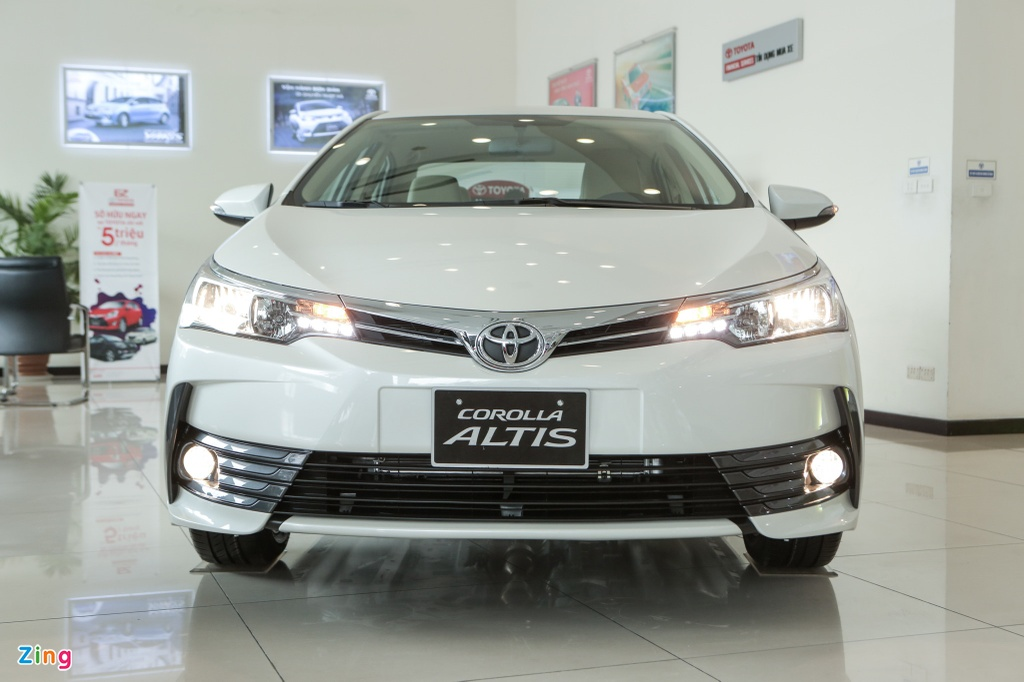 Toyota Corolla Altis 2020 co gi dac biet hon the he cu? anh 2