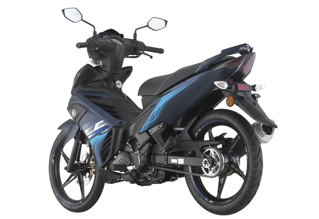 Yamaha Exciter 135 ra mat phien ban xe so pho thong hinh anh 5