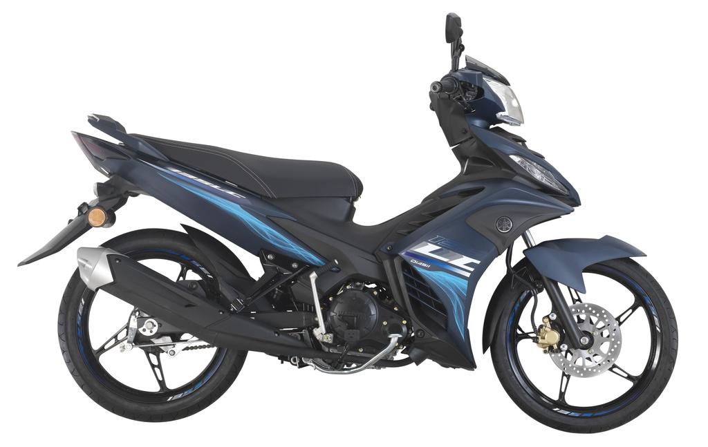 Yamaha Exciter 135 ra mat phien ban xe so pho thong hinh anh 3