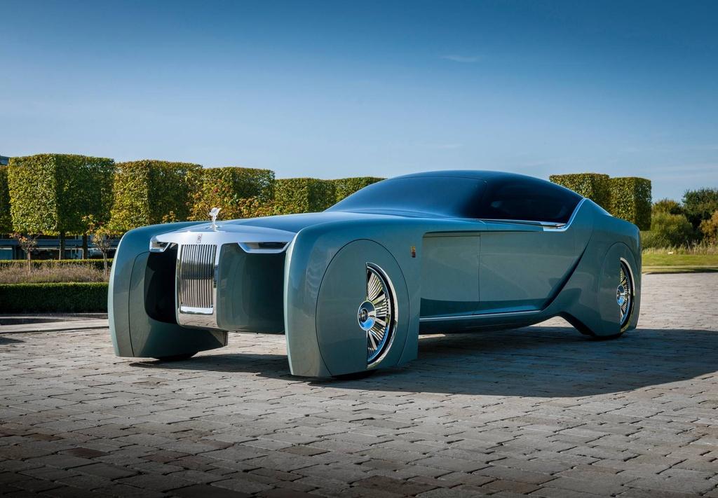Xe dien tu lai cua Rolls-Royce nam 2035 se trong nhu the nao? hinh anh 1