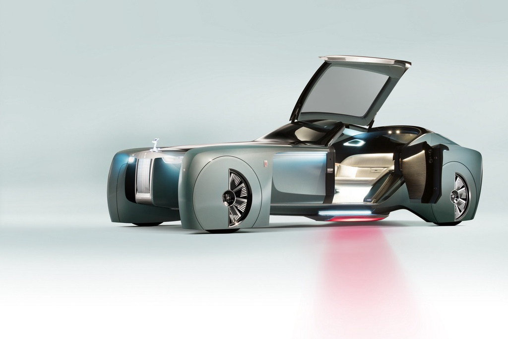 Xe dien tu lai cua Rolls-Royce nam 2035 se trong nhu the nao? hinh anh 6