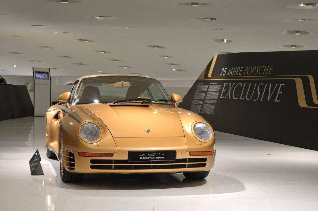 Chiem nguong Porsche 959 'hoang kim' cuc doc cua hoang than Qatar hinh anh 3