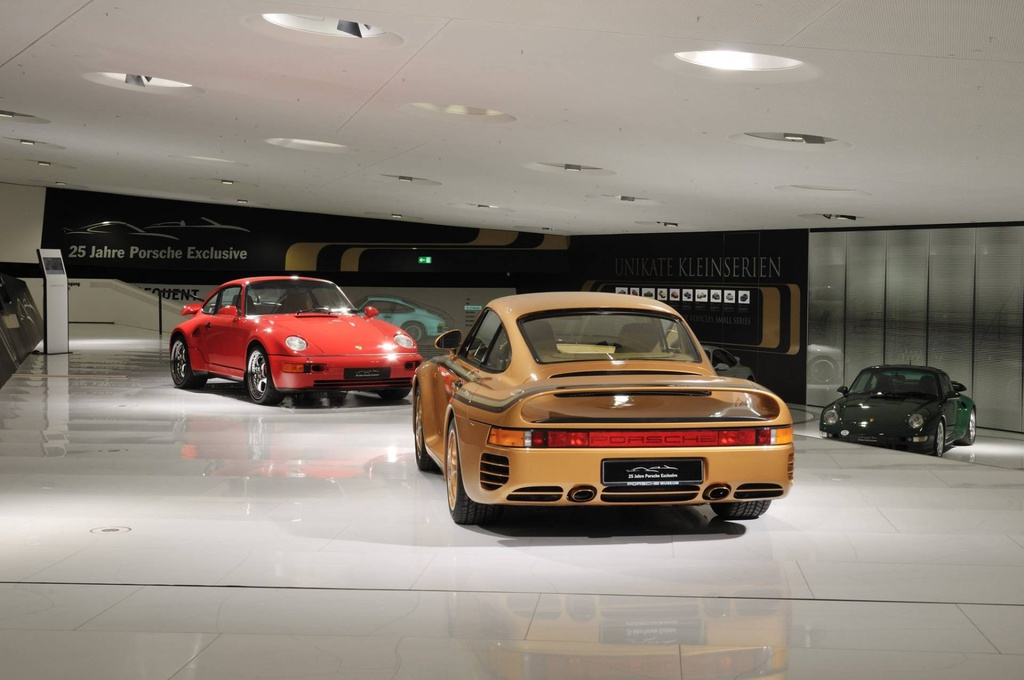 Chiem nguong Porsche 959 'hoang kim' cuc doc cua hoang than Qatar hinh anh 9
