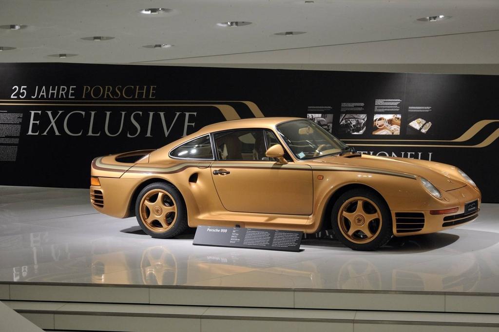 Chiem nguong Porsche 959 'hoang kim' cuc doc cua hoang than Qatar hinh anh 2