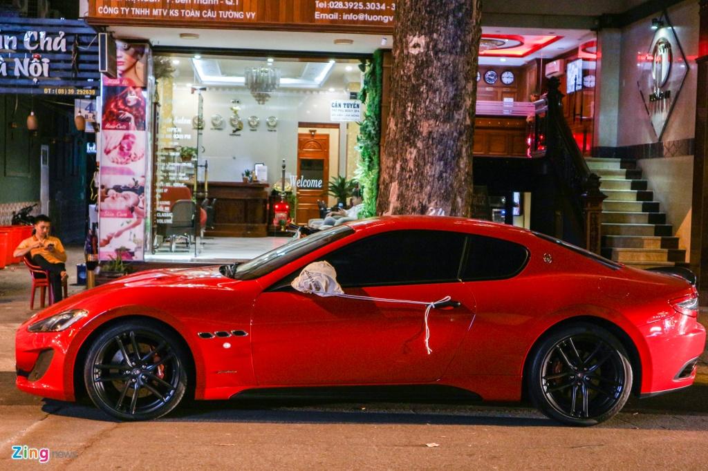 Chiem nguong Maserati GranTurismo Sport mau do hang hiem o VN hinh anh 3