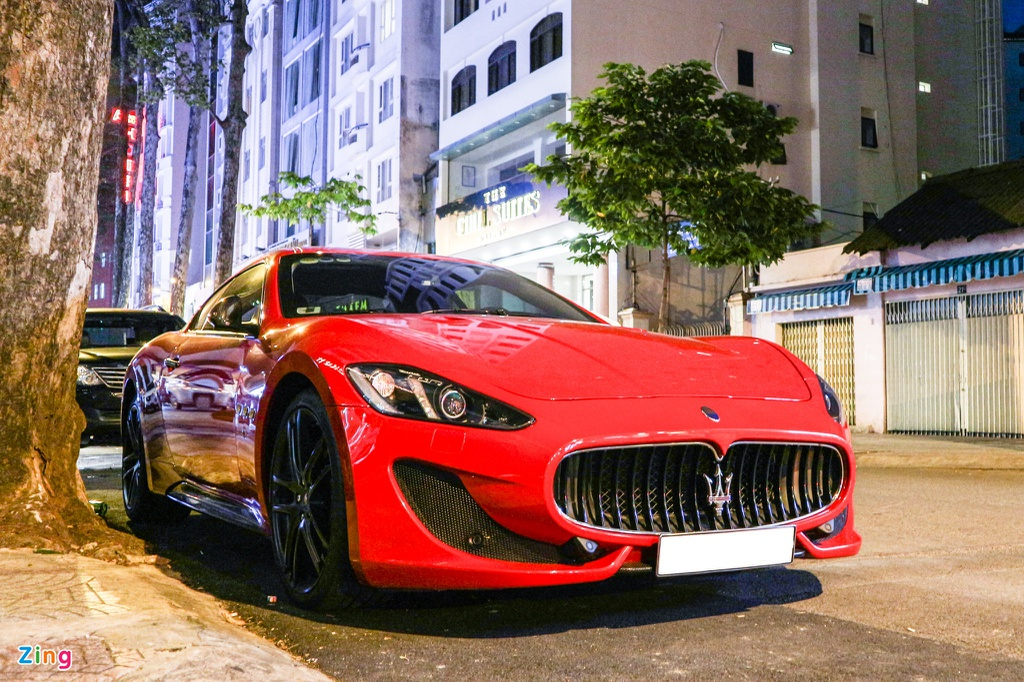 Chiem nguong Maserati GranTurismo Sport mau do hang hiem o VN hinh anh 11