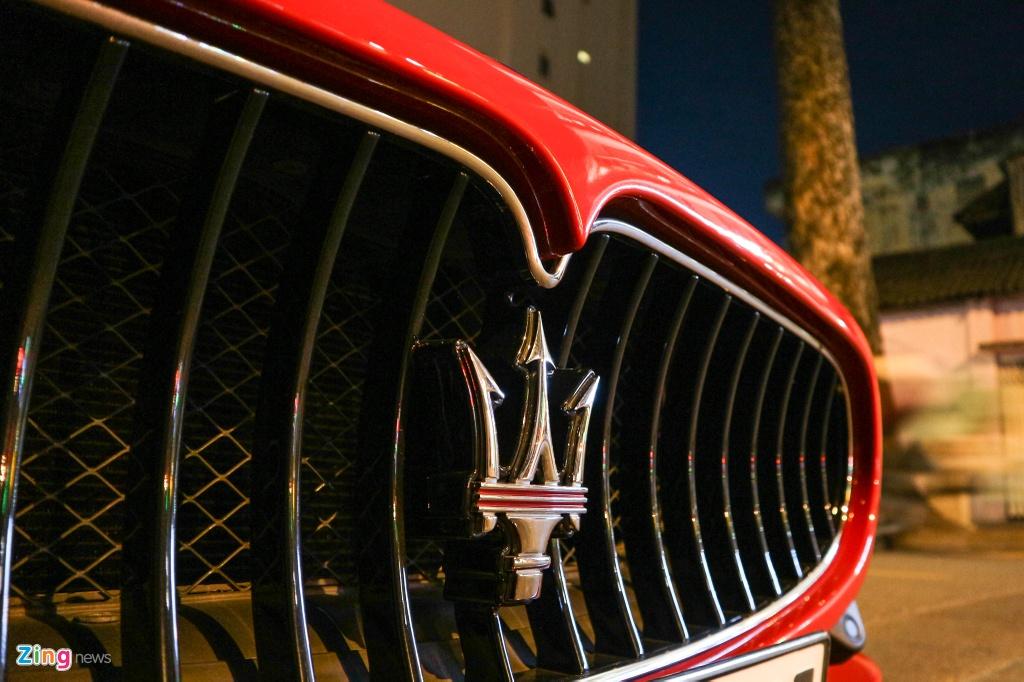Chiem nguong Maserati GranTurismo Sport mau do hang hiem o VN hinh anh 5