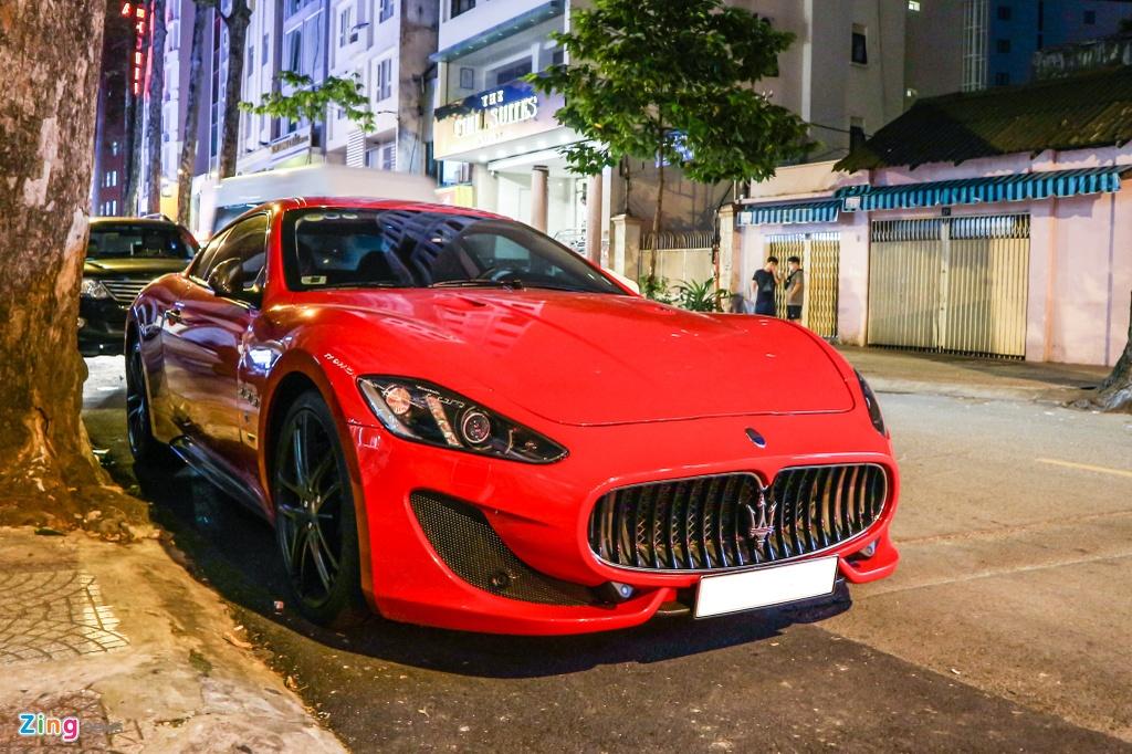 Chiem nguong Maserati GranTurismo Sport mau do hang hiem o VN hinh anh 1