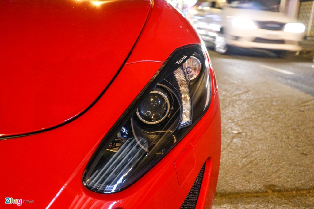 Chiem nguong Maserati GranTurismo Sport mau do hang hiem o VN hinh anh 4