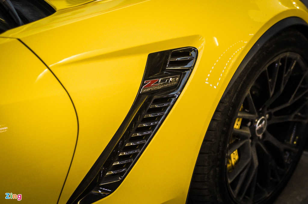 Chevrolet Corvette Z06 doc nhat Ha Noi anh 7