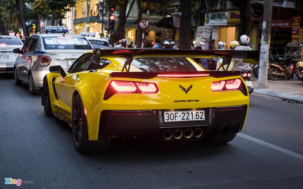 Chevrolet Corvette Z06 doc nhat Ha Noi anh 10
