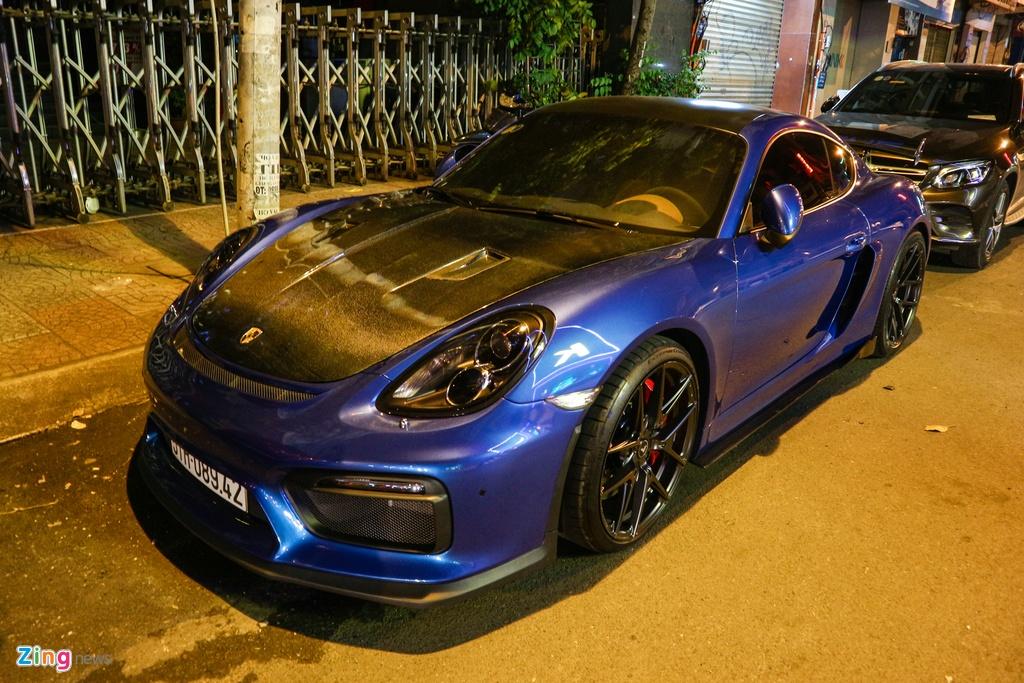 Can canh Porsche Cayman do phong cach xe dua o TP.HCM hinh anh 10
