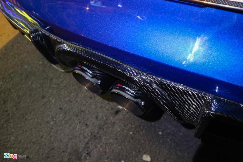 Can canh Porsche Cayman do phong cach xe dua o TP.HCM hinh anh 8