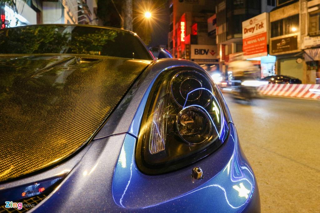 Can canh Porsche Cayman do phong cach xe dua o TP.HCM hinh anh 3