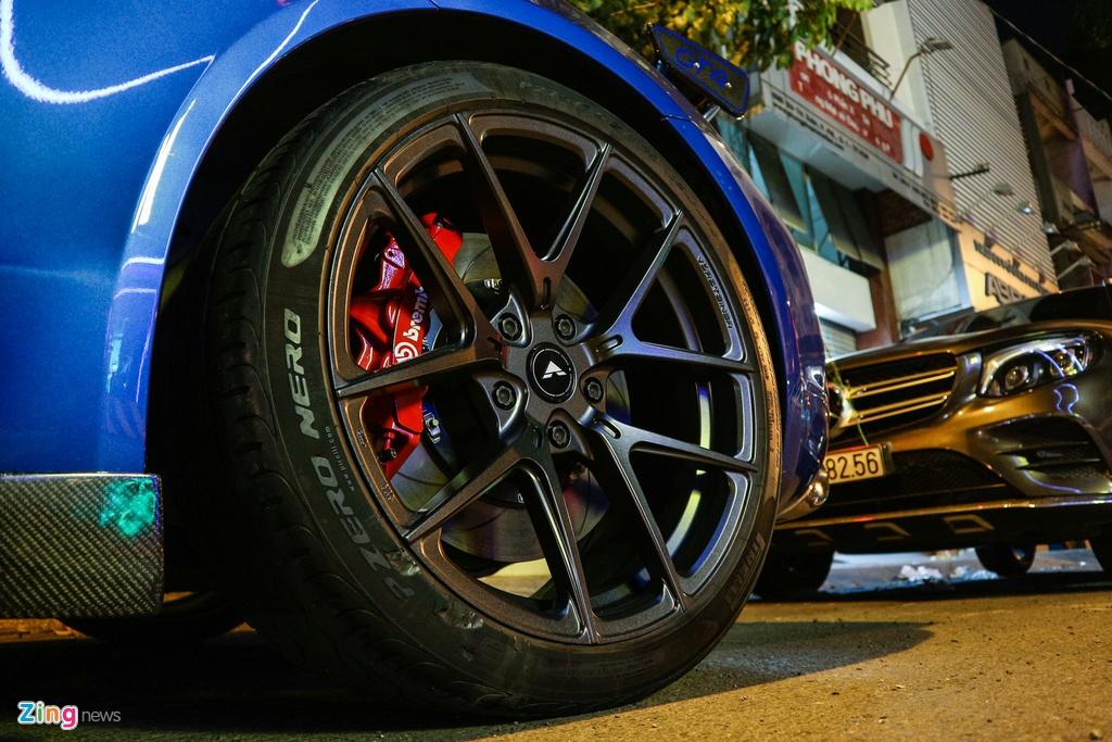 Can canh Porsche Cayman do phong cach xe dua o TP.HCM hinh anh 5