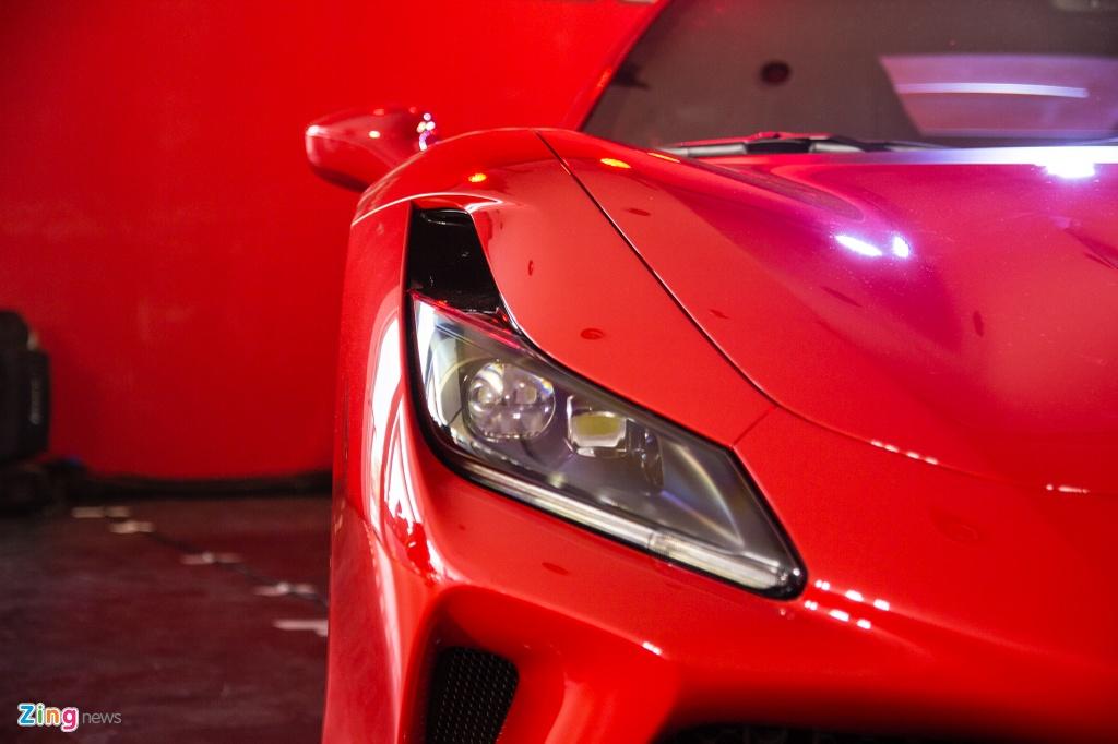 Sieu xe Ferrari F8 Tributo dau tien xuat hien tai Viet Nam hinh anh 4