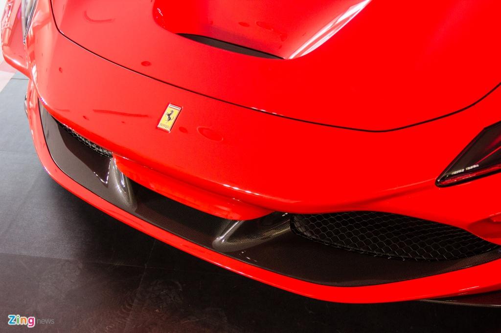 Sieu xe Ferrari F8 Tributo dau tien xuat hien tai Viet Nam hinh anh 5