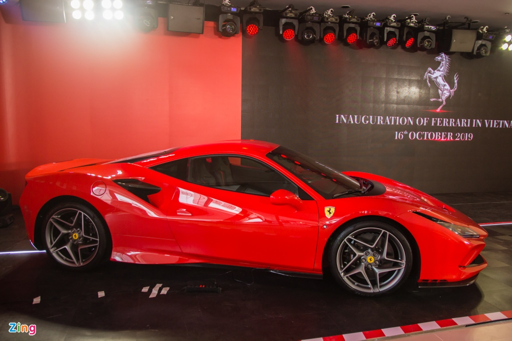 Sieu xe Ferrari F8 Tributo dau tien xuat hien tai Viet Nam hinh anh 16