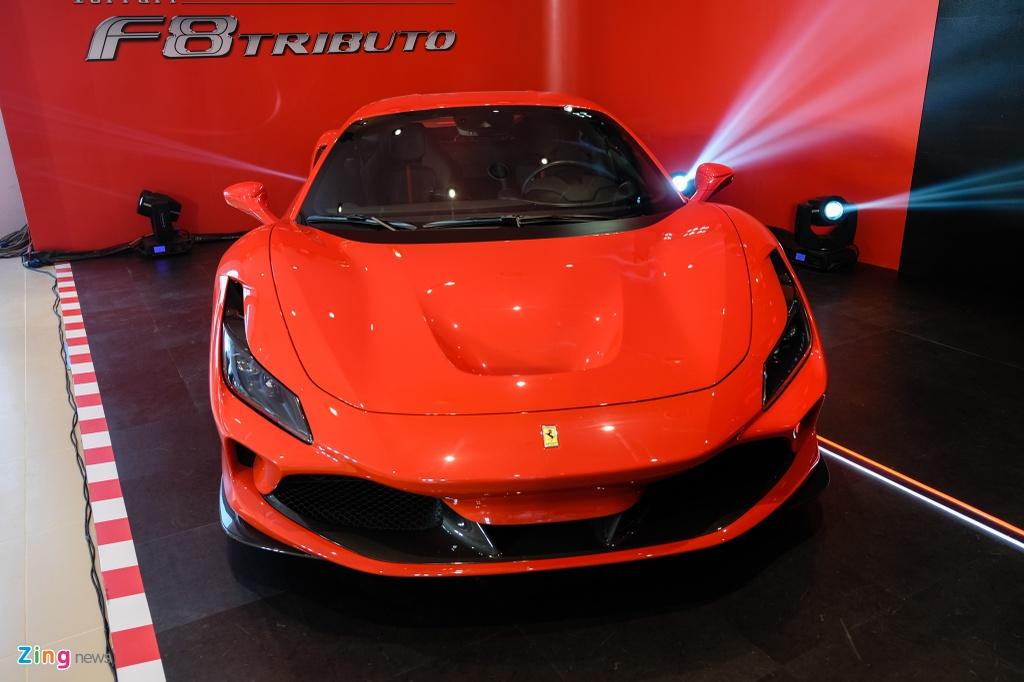 Sieu xe Ferrari F8 Tributo dau tien xuat hien tai Viet Nam hinh anh 3