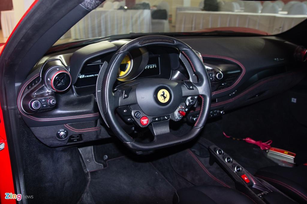 Sieu xe Ferrari F8 Tributo dau tien xuat hien tai Viet Nam hinh anh 10