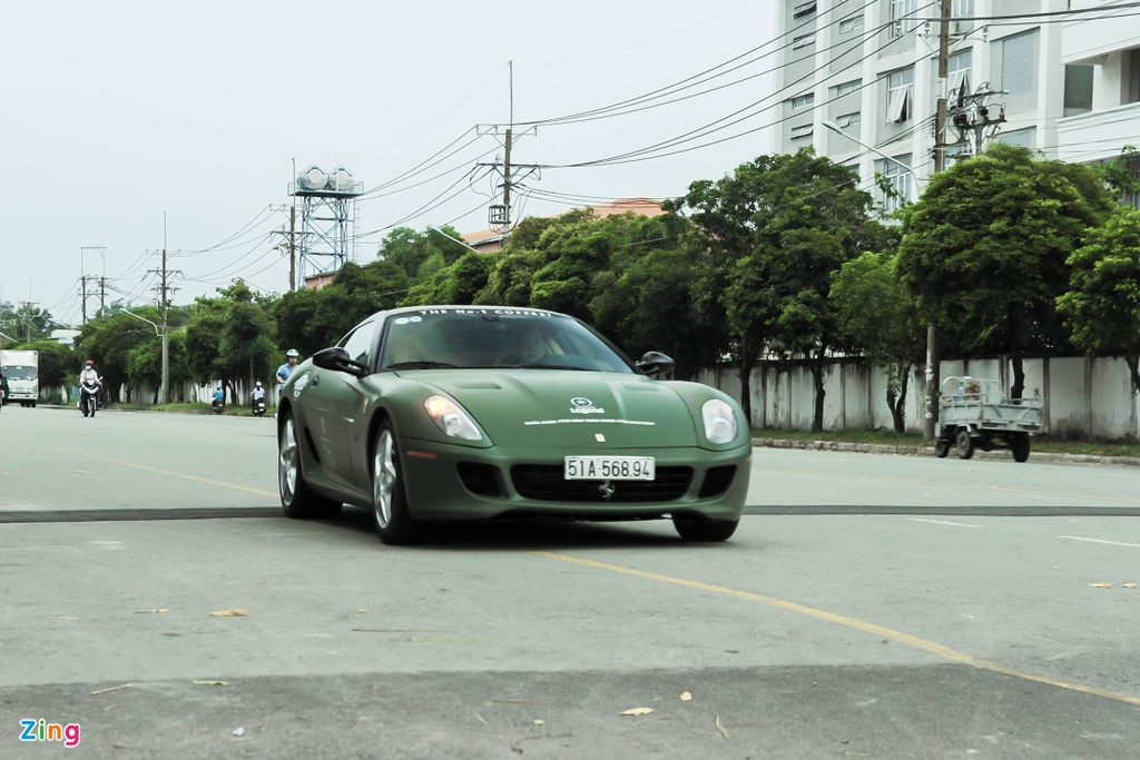 Ferrari 599 GTB doc nhat Viet Nam anh 6