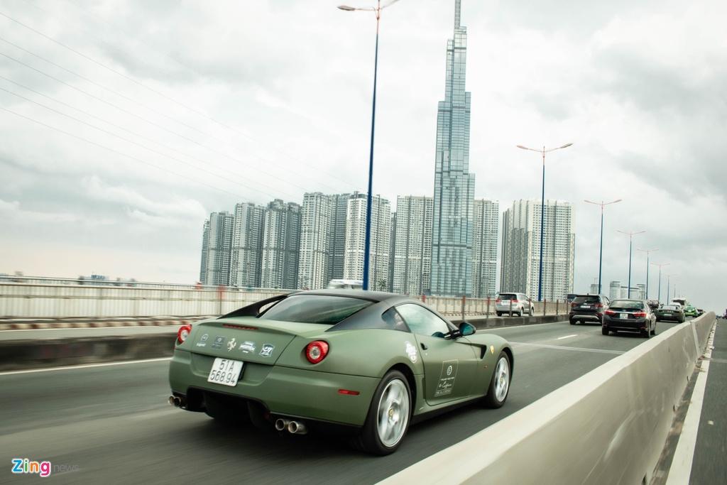 Ferrari 599 GTB doc nhat Viet Nam anh 7