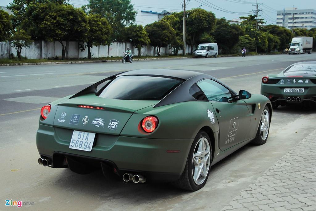 Ferrari 599 GTB doc nhat Viet Nam anh 5