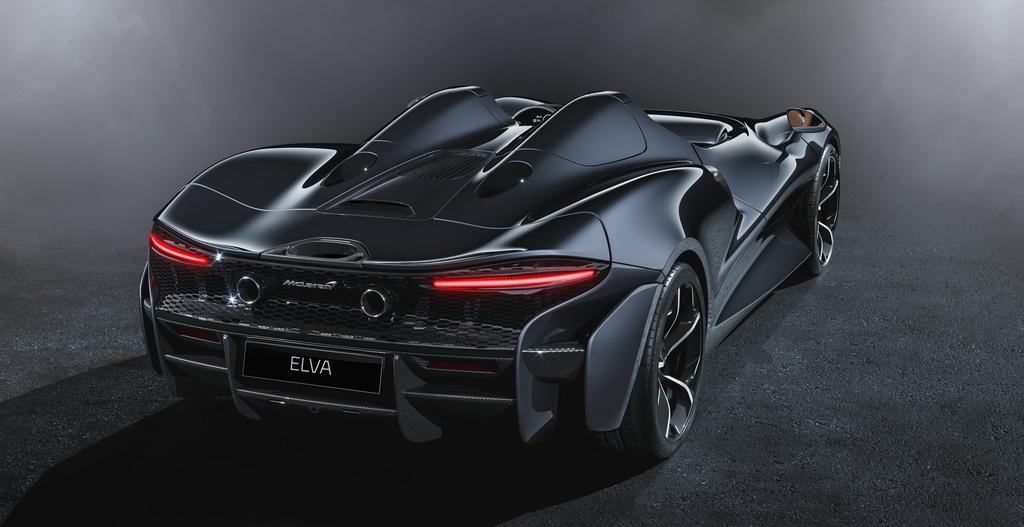 Sieu xe McLaren Elva mui tran khong kinh chan gio anh 7