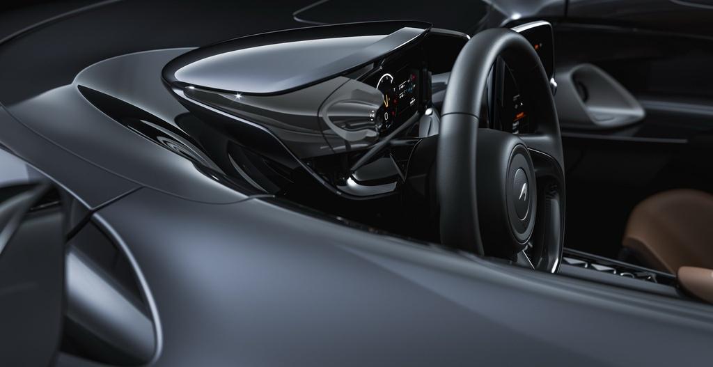 Sieu xe McLaren Elva mui tran khong kinh chan gio anh 5