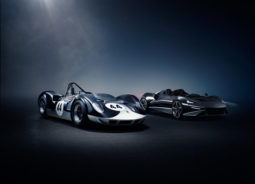 Sieu xe McLaren Elva mui tran khong kinh chan gio anh 9