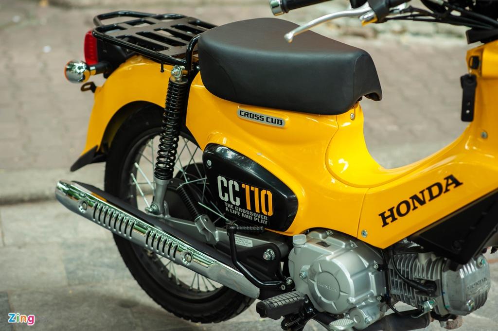 Honda Cross Cub 110 gia cao hon SH tai Viet Nam hinh anh 8