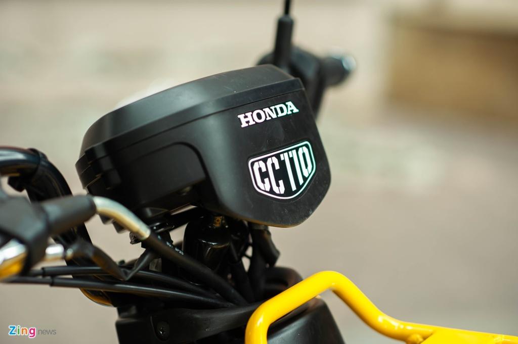 Honda Cross Cub 110 gia cao hon SH tai Viet Nam hinh anh 6